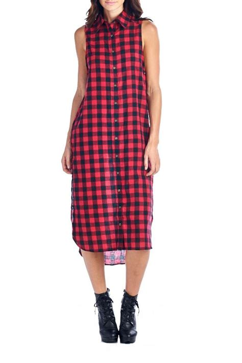 Flanel Size L flannel dress from nevada by pink society shoptiques