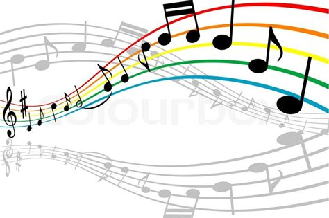 design background music notes with music elements as a musical background design