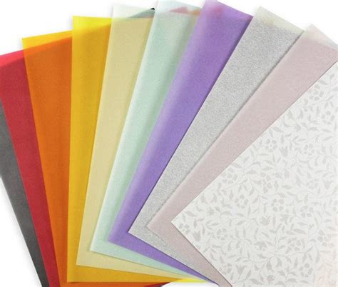 How To Make Paper Translucent - vellum paper translucent paper translucent vellum