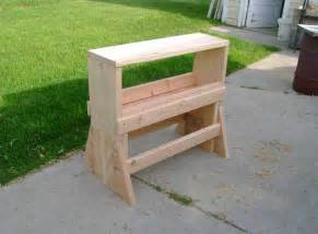 Sawhorse Bench - chad s sawhorse workbench popular woodworking magazine