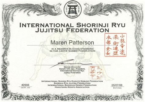 martial certificate templates free martial arts certificate borders studio design