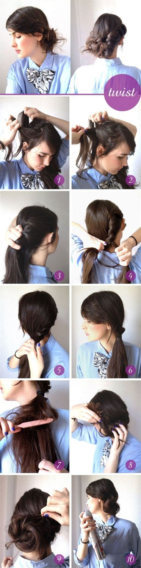 hairstyles ideas trends good fashion cute hairstyles for how to style the messy twist updo hairstyle hairstyle