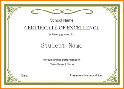 6  professional certificate design templates   sample of