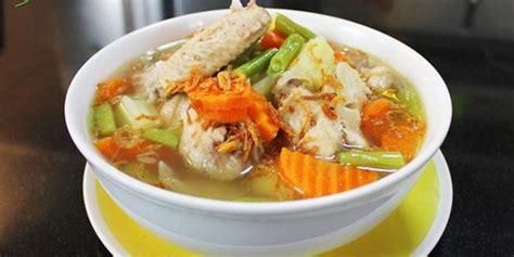 resep membuat kaldu ayam gurih resep cara membuat sop sayap ayam gurih bikin nagih