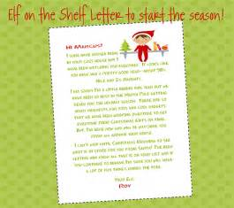 on the shelf letter to start the season you
