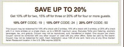 olive garden coupons printable 2017 2017 coupons printable