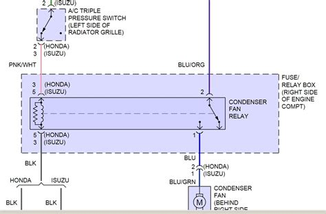 isuzu npr condenser fan wiring isuzu free printable wiring diagrams database