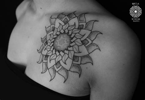 sun mandala tattoo 58 amazing mandala shoulder tattoos