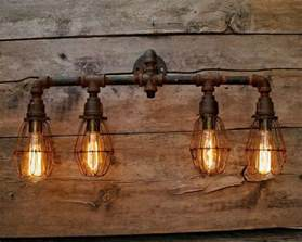 rustic bathroom vanity light fixtures best 25 steunk bathroom ideas on pinterest steunk