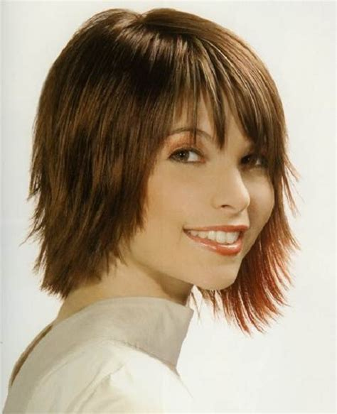 short hairstyle with shorter one side short side fringe hairstyles