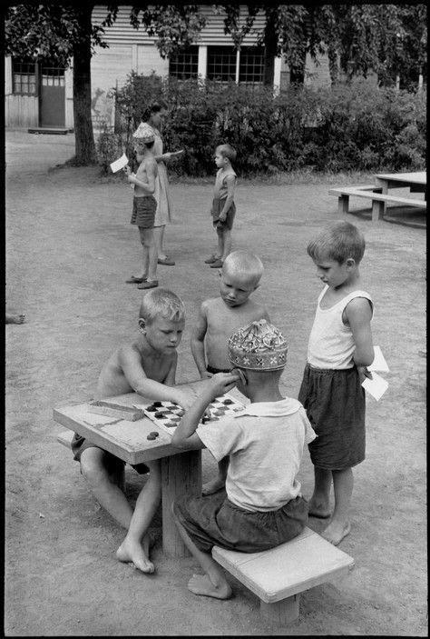 Henri Cartier-Bresson - Moscow. Gorky Park. 1954. | Rusija