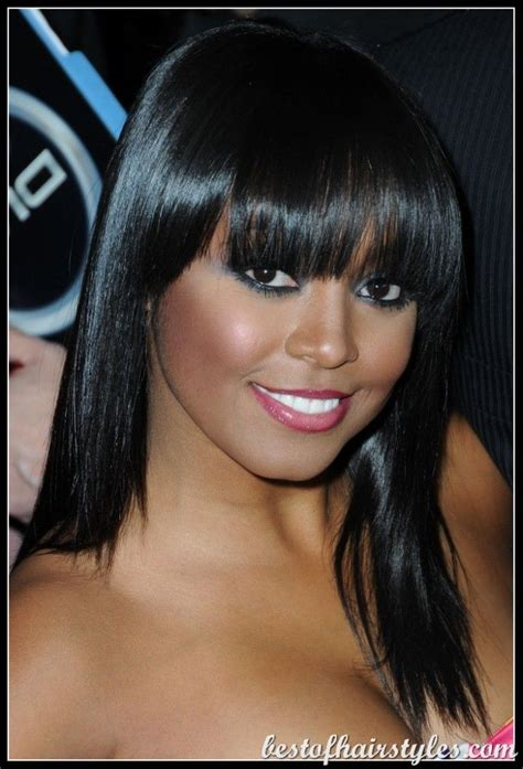 hairstyles when lsoing a lot of hair black women hairstyles with bangs find lots of fabulous