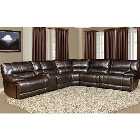Sectional Sofas With Cup Holders Living Pegasus Mpeg Packm Nu 5 Seater Power Reclining Sectional Sofa With Cup Holder