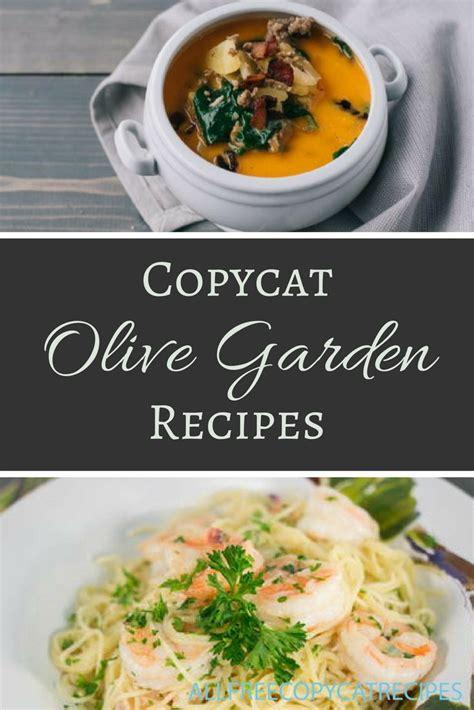 olive garden v hodgepodge 30 olive garden copycat recipes allfreecopycatrecipes