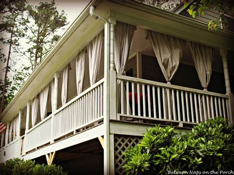 porch with curtains drop cloth curtains for a porch add privacy and sun control