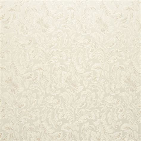 ivory upholstery fabric ivory floral leaf damask upholstery and drapery grade