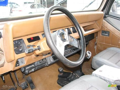 how cars run 1995 jeep wrangler interior lighting 1995 light pearlstone pearl jeep wrangler se 4x4 4231357