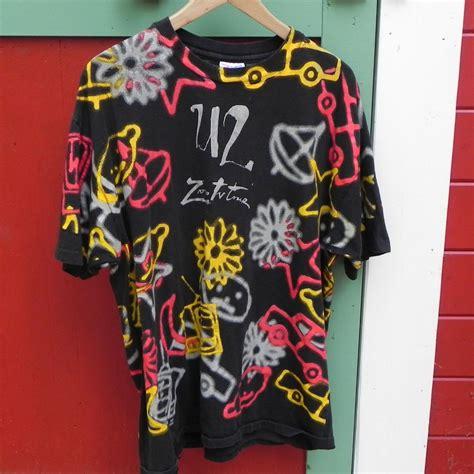 Bono U2 Shirt u2 zooropa t shirt s xl all print