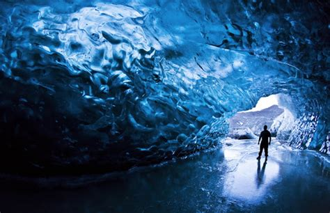 crystal cave iceland hidden unseen amazing glacier caves