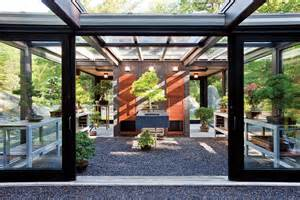 out of the woods ultra modern greenhouse design
