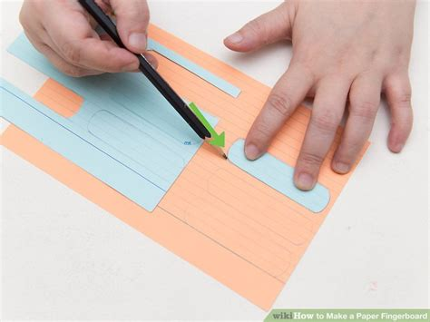 How To Make A Paper Fingerboard - how to make a paper fingerboard 14 steps with pictures