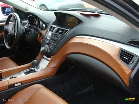 umber interior 2010 acura zdx awd technology photo