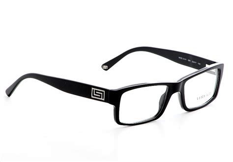 versace eyeglasses 3141 black optical frames
