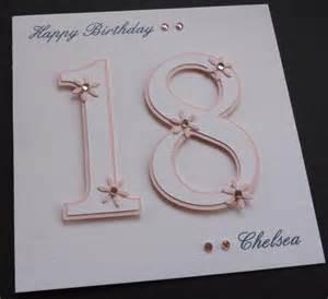 ideas for 18th birthday cards handmade handmade personalised 16th 18th 21st birthday card ebay