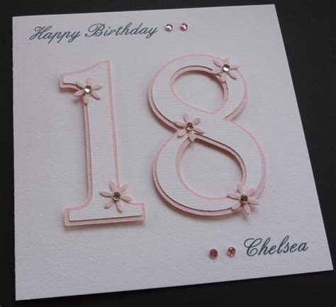 Handmade 18th Birthday Cards - 18th birthday card ideas handmade birthday card ideas