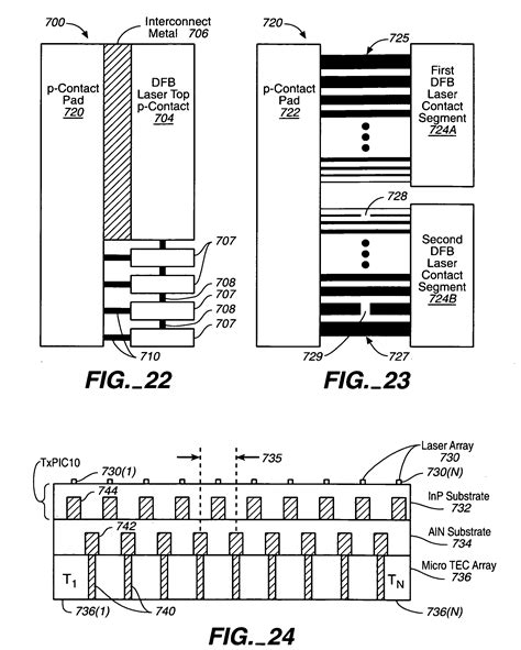 monolithic photonic integrated circuit patent us7200296 monolithic photonic integrated circuit pic chip patents