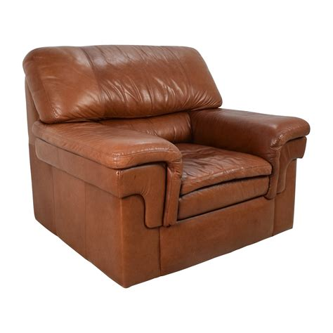 classic leather armchair 70 off classic cherry brown leather armchair chairs