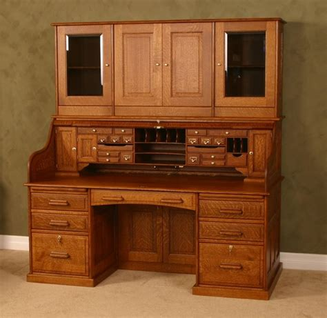 wood revival desk company made 72 quot rolltop by wood revival desk company