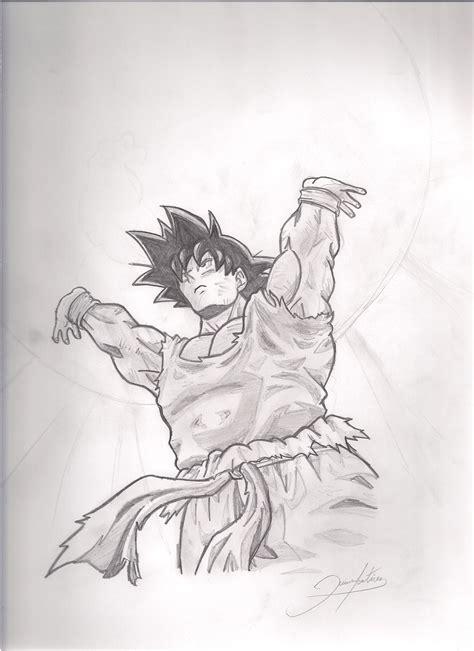 imagenes de goku haciendo la genkidama para colorear goku haciendo genkidama por soylestad dibujando
