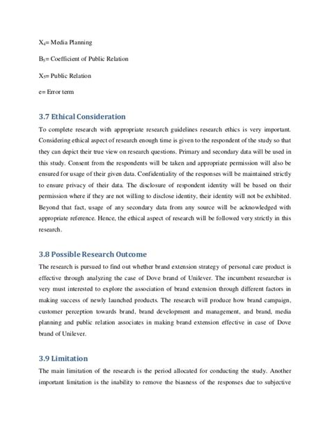 ethical issues dissertation thesis ethical considerations