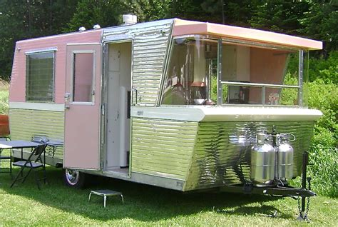 rv house road warriors vintage trailers cers bring style to