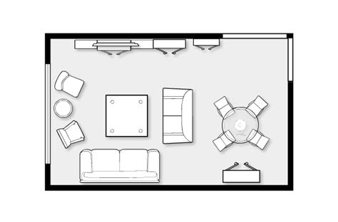 Living Room Floor Plans by Small Living Room Ideas