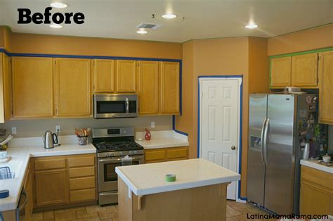 refinishing painted kitchen cabinets how to refinish your kitchen cabinets latina mama rama