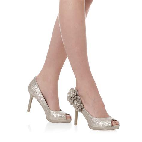 Shoo Vienna ruby shoo matching donna peeptoe pumps vienna bag gold