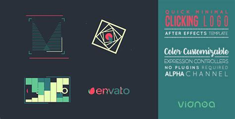 templates after effects envato quick minimal clicking logo corporate envato videohive