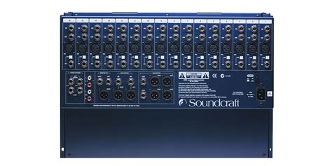 Mixer Soundcraft Efx 16 New Original gb2r soundcraft professional audio mixers