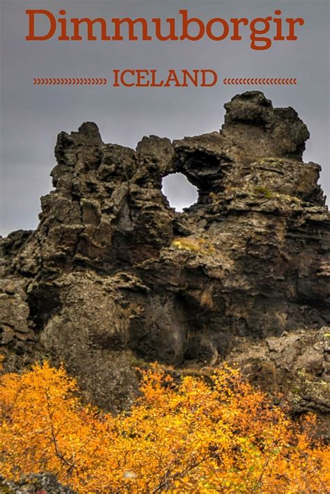 iceland the official travel guide books dimmuborgir iceland photos info and walks in