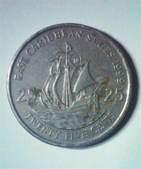 Koin Elizabeth 11 koleksi barang bekas unik koin east caribbean states