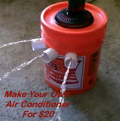 make your own air conditioner for 20 my honeys place