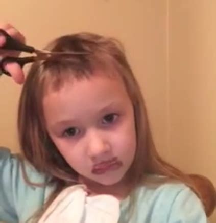 bad old lady haircuts this little girl who gave herself a haircut is all of us