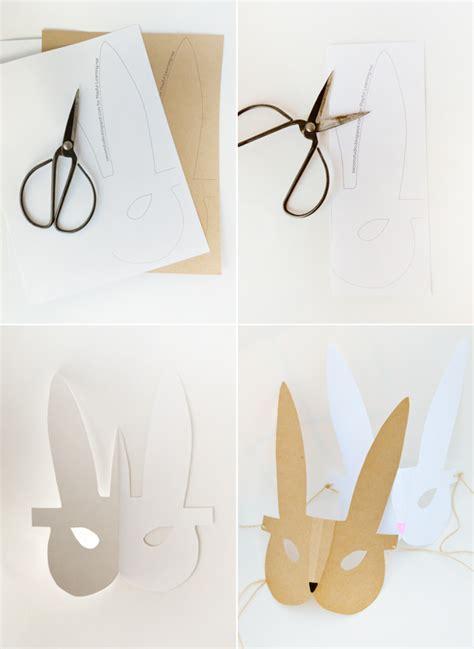 printable bunny mask crafts for kids printable bunny mask playful learning