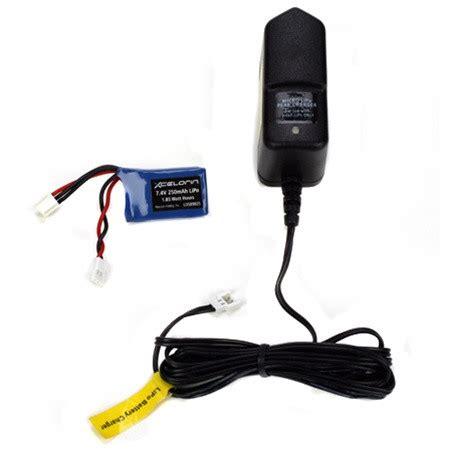 losi lipo charger losb9635 losi lipo charger battery 250mah combo micro