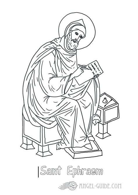 10 Best Images About Angels And Saints On Pinterest St Coloring Pages Religious