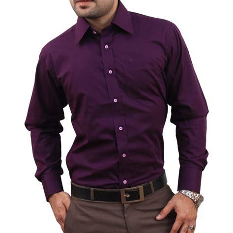 Dress Grey Ks purple formal shirt