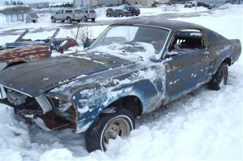 Parts 1967 Ford Mustang Fastback 2 Door Project For Sale 1967 Ford Mustang Fastback Project Car Build Eleanor Or Shelby Clone 1968