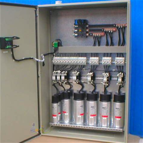 capacitor bank panel electro mechanical cont l l c